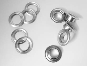E15 SOLID BRASS EYELET & WASHER SET (100/PK) NP