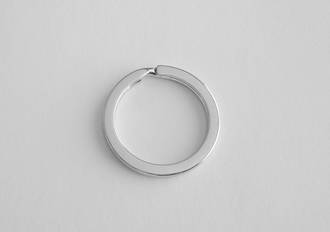 4665 FLAT WIRE KEYRING