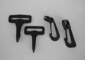 Black Plastic Hook