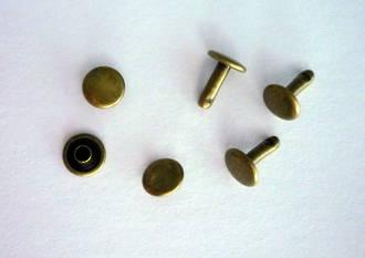 107-8mm SOLID BRASS D/C RIVET SET