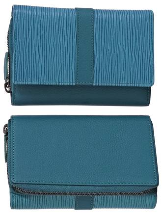 WL565 TOSCA LADIES WALLET - BLUE