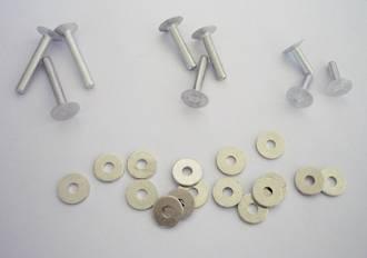 Aluminum Rivet set - 100pcs. /pack