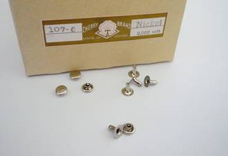 107-6mm S/C Rivet Set Nickel,  Cherry Brand