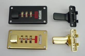 A2 Large Combination Lock & Hasp