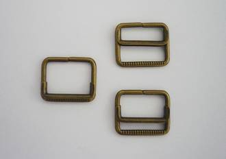 BK353  SLIDE  20mm, Antique Brass
