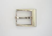 #140 Buckle Satin Nickel,  30mm