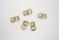 21572 Sandal Buckle  8mm Gold  (10pcs./pack)