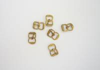 8mm  Gilt Buckle  (10pcs./pack)