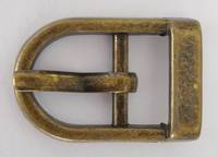 JSD814 ANTIQUE BRASS BUCKLE 12mm