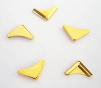 H85  Gold Corner (15mm x 15mm)