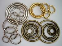 O-RING HD AVAILABLE IN NICKEL, ANTIQUE BRASS & SOLID BRASS