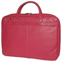 MB255 - LEATHER LAPTOP CASE - PINK