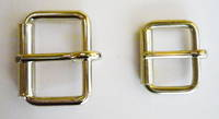 N423 ROLLER BUCKLE IN NICKEL