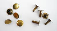 810-10MM SOLID BRASS AB SINGLE CAP RIVET SET