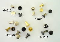Tubular Rivets - 100pcs. /pack