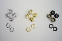 EY22  EYELET and WASHER SET: SOLID BRASS  (100/pk)