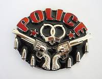 2013-H  Police  Gun/Bullets  -  Nic/Red, Black
