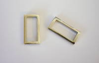 OE4615  Cast Metal Rectangle  (32mm)