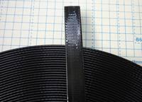 WTPL  Plastic Coated Webbing, Black