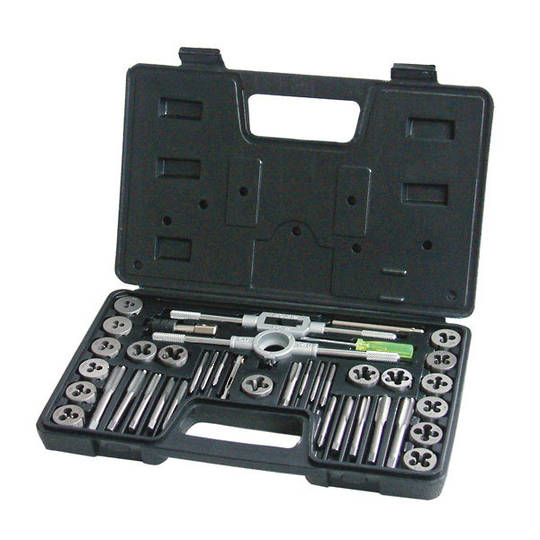 Frost Tap & Die Set Metric 40pc