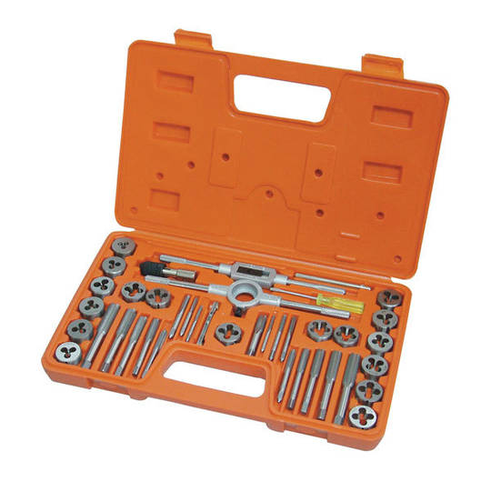 Frost Tap & Die Set Imperial 40pc