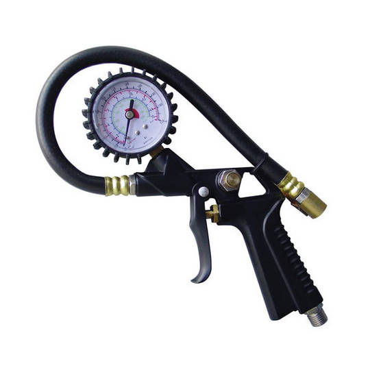 Ampro Tyre Inflator 10-220lb With Gauge