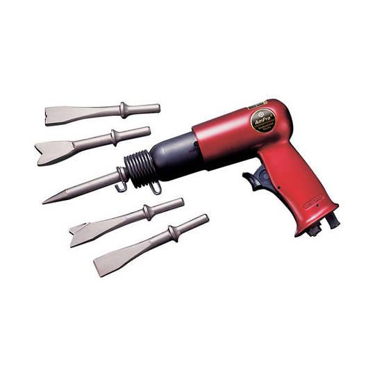 Ampro Air Hammer Chisel Kit 5pc