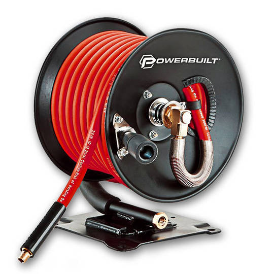 Powerbuilt Air Hose Reel 15 metres