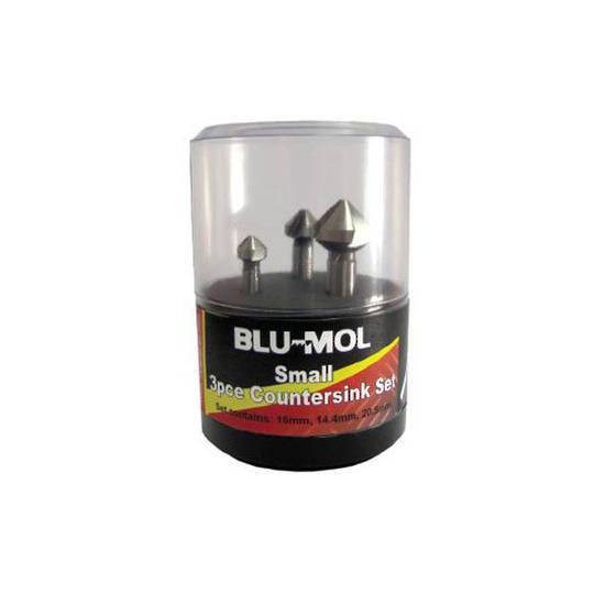 Blu-Mol 3pc Countersink Set