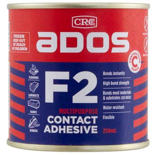 F2 Contact Adhesive 250ml Ados