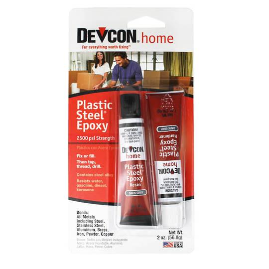 Devcon Plastic Steel Epoxy 2-Tube 56.8g