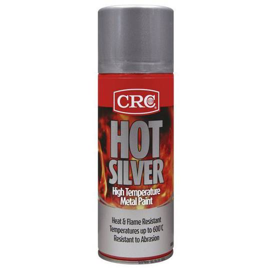 Hot Silver High Temp Paint 400ml