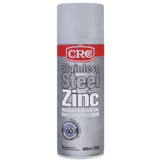 Zinc It Stainless Steel 400ml CRC