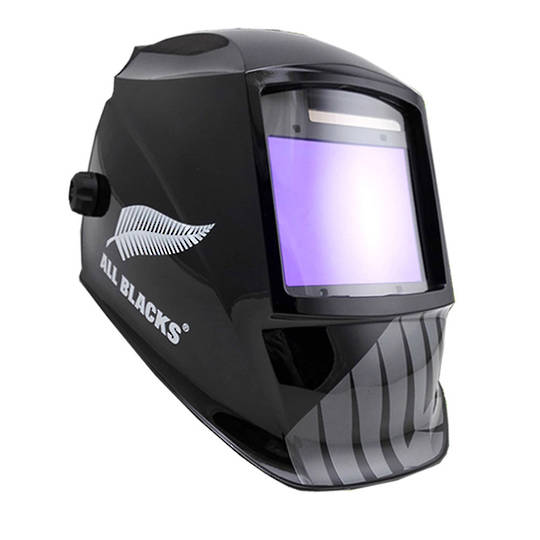 All Blacks Auto Welding Helmet Titanium