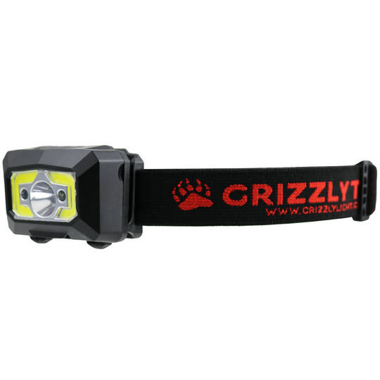 Grizzly LED Rechargable Headlight