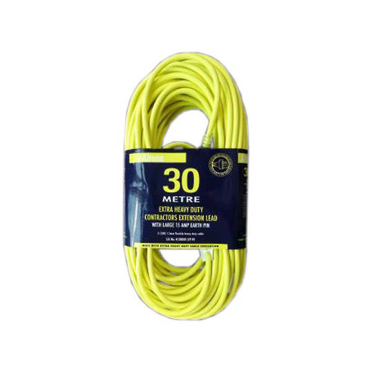 Altona 30m Extra H/D Extension Lead 15amp Plug