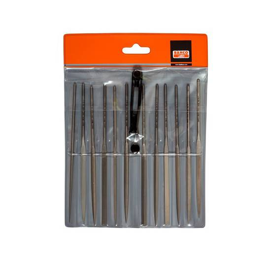 Bahco 12pc Needle File Set