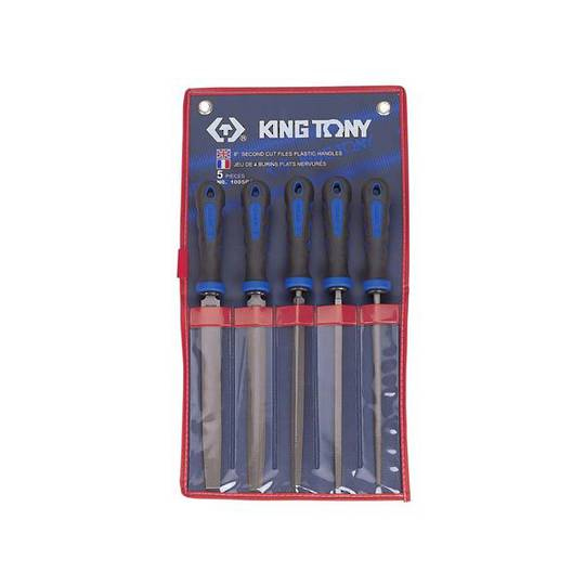 "King Tony 5pc 8"" 2nd Cut File Set"