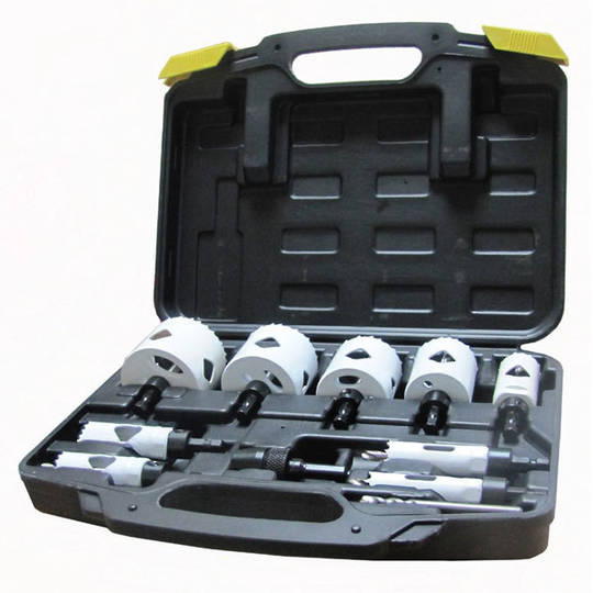 Blumol Holesaw Set 9pc 16-60mm