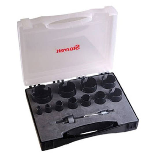 Starrett 11pc Carbide Holesaw Kit