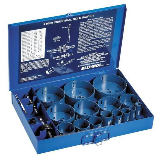 Blu-Mol Industrial Holesaw Kit