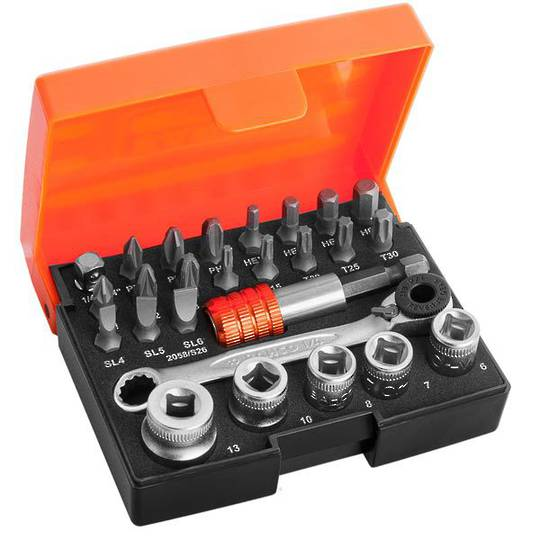 Bahco 26pc Bit & Socket Set