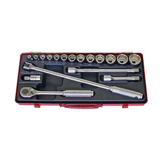 "Koken 1/2"" Dr Socket Set - 18pc"