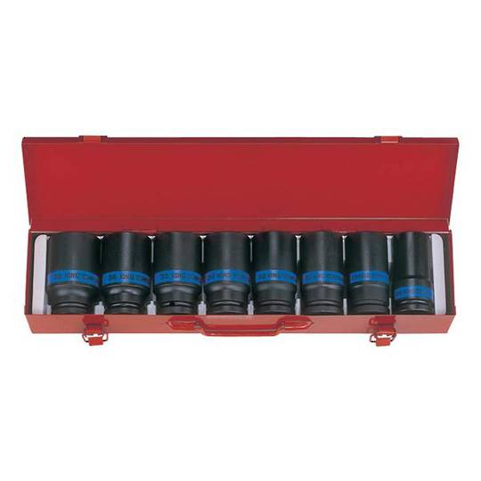 "King Tony 3/4""Dr 8pc Deep Impact Socket Set"
