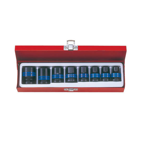 "King Tony 1/2"" Dr 8pc Impact Socket Set"