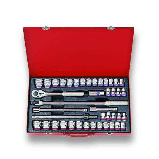 "King Tony 1/2"" Dr 42pc Combination Socket Set"