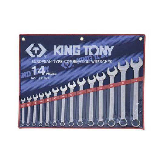 King Tony 14pc R&OE Wrench Set 10-32mm