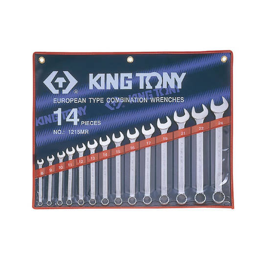 King Tony 14pc R & OE Spanner Set