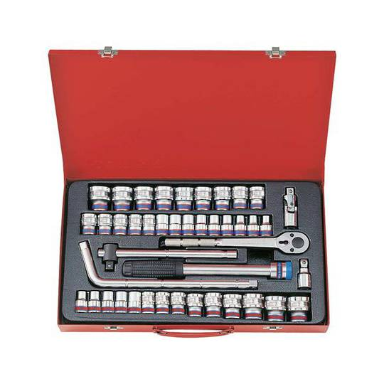 "King Tony 43pc 1/2""Dr Combination Socket Set"