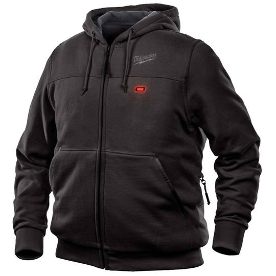 Milwaukee M12 Black Heated Hoodie Gen9 Medium